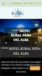 Mobile Preview of hotelpdelalba.es